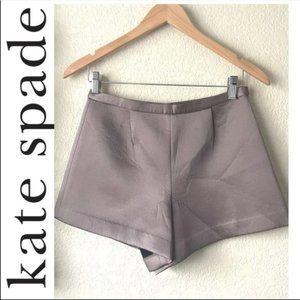 ⚡️SALE⚡️NWOT Kate Spade Scuba Pleated Short Taupe